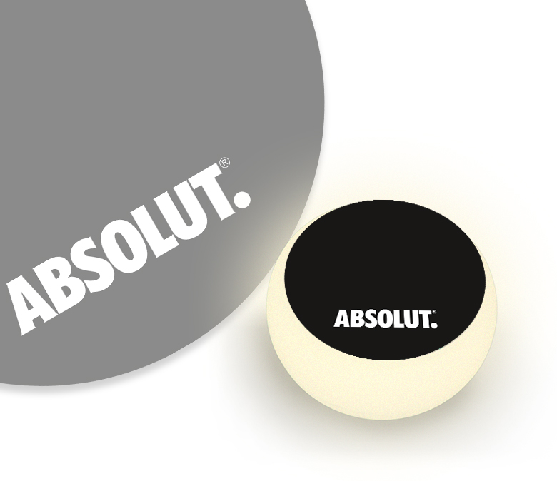 LED Tisch Absolut Vodka von my-lounge.de