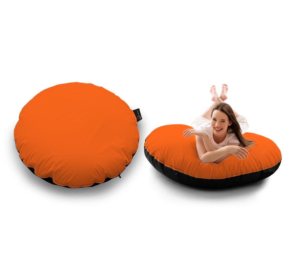 Sitzsack Bow Lounger UNI Orange my-lounge.de