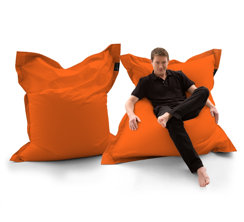 Sitzsack Lounger UNI Orange my-lounge.de