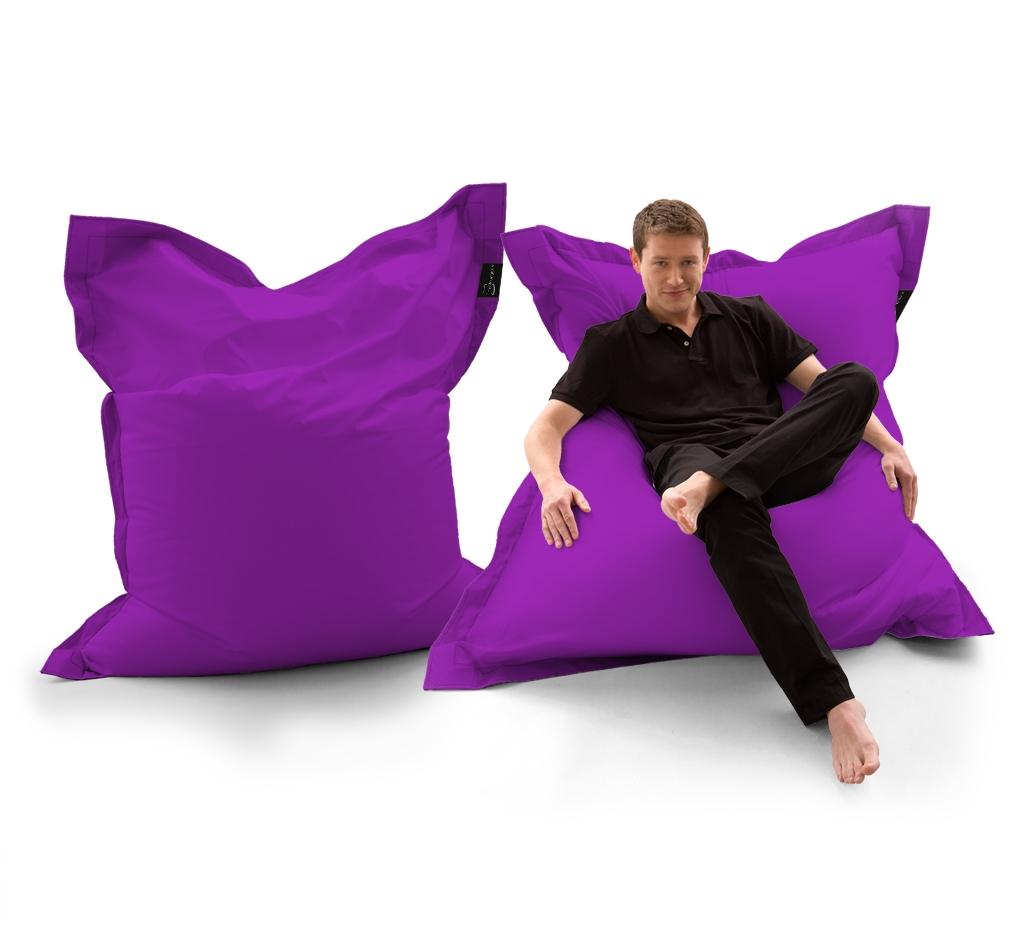 Sitzsack Lounger UNI Lila my-lounge.de