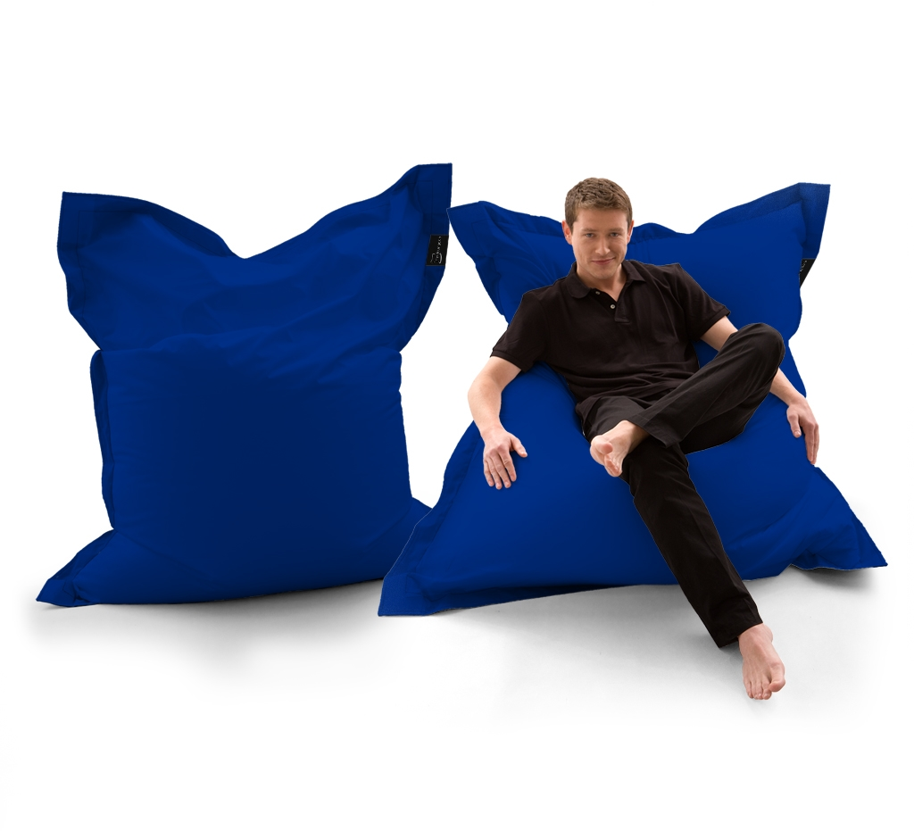 Sitzsack Lounger UNI Blau my-lounge.de
