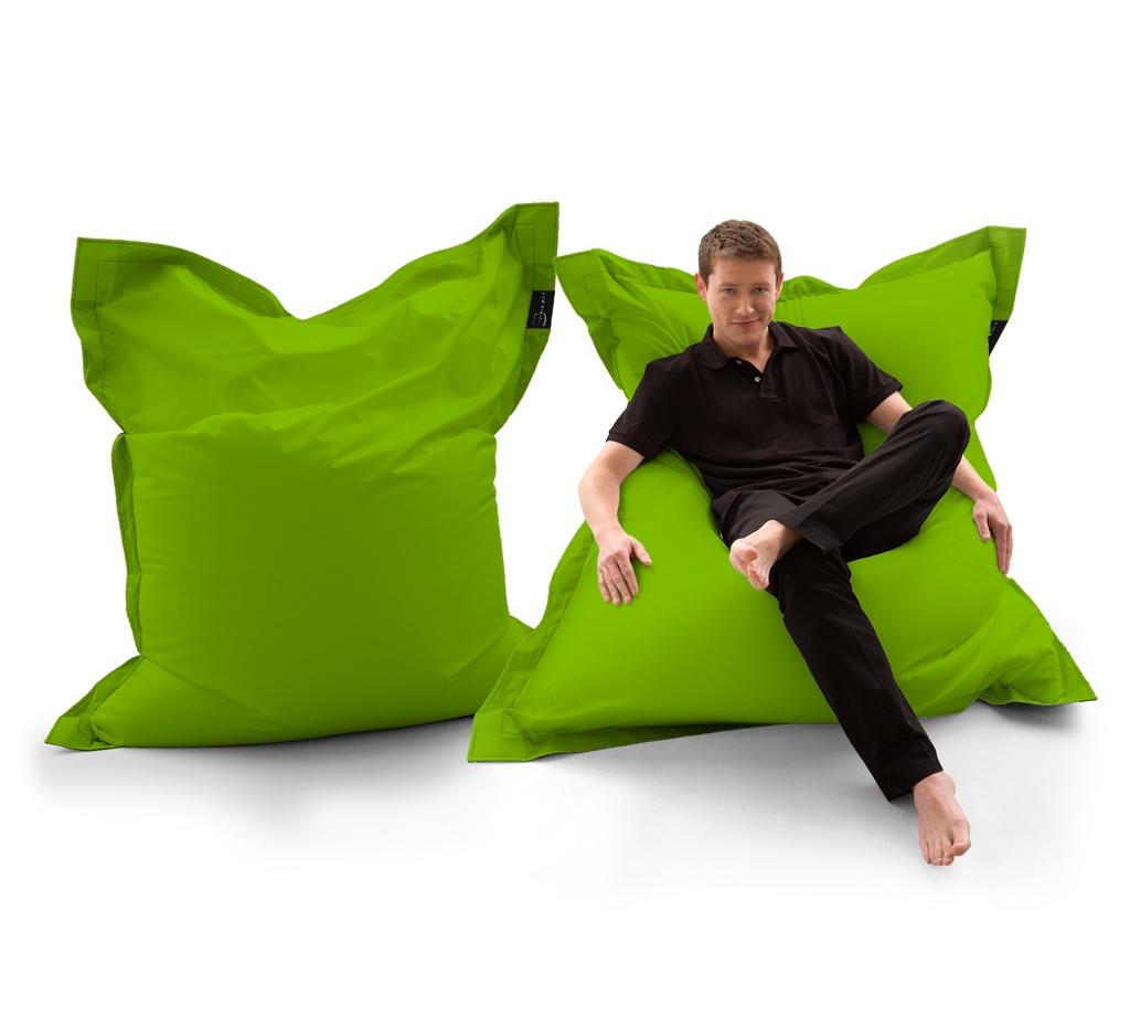 Sitzsack Lounger UNI Grün my-lounge.de