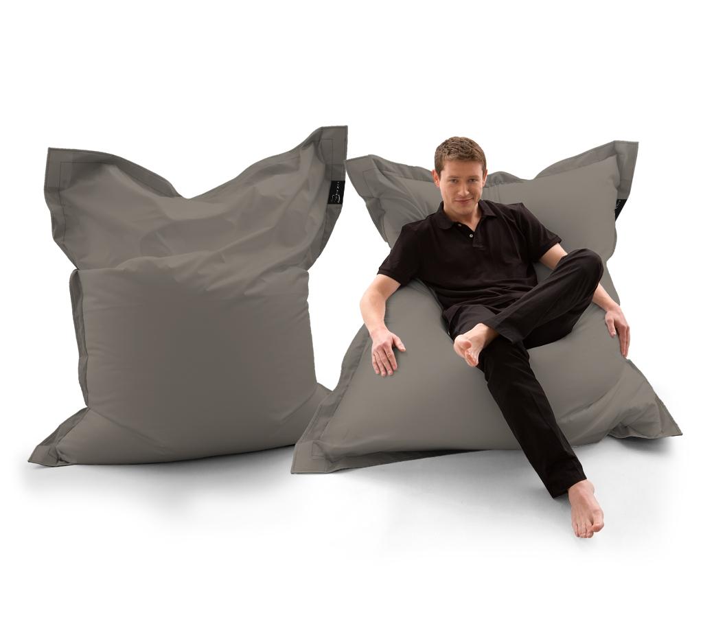 Sitzsack Lounger UNI Khaki my-lounge.de