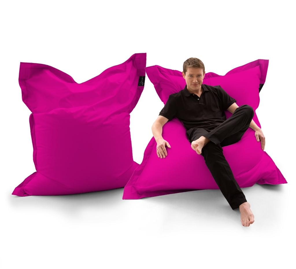 Sitzsack Lounger UNI Pink my-lounge.de