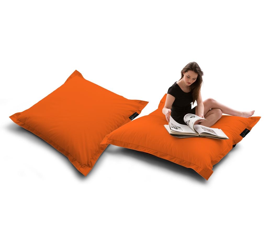 Sitzsack Quad Lounger UNI Orange my-lounge.de