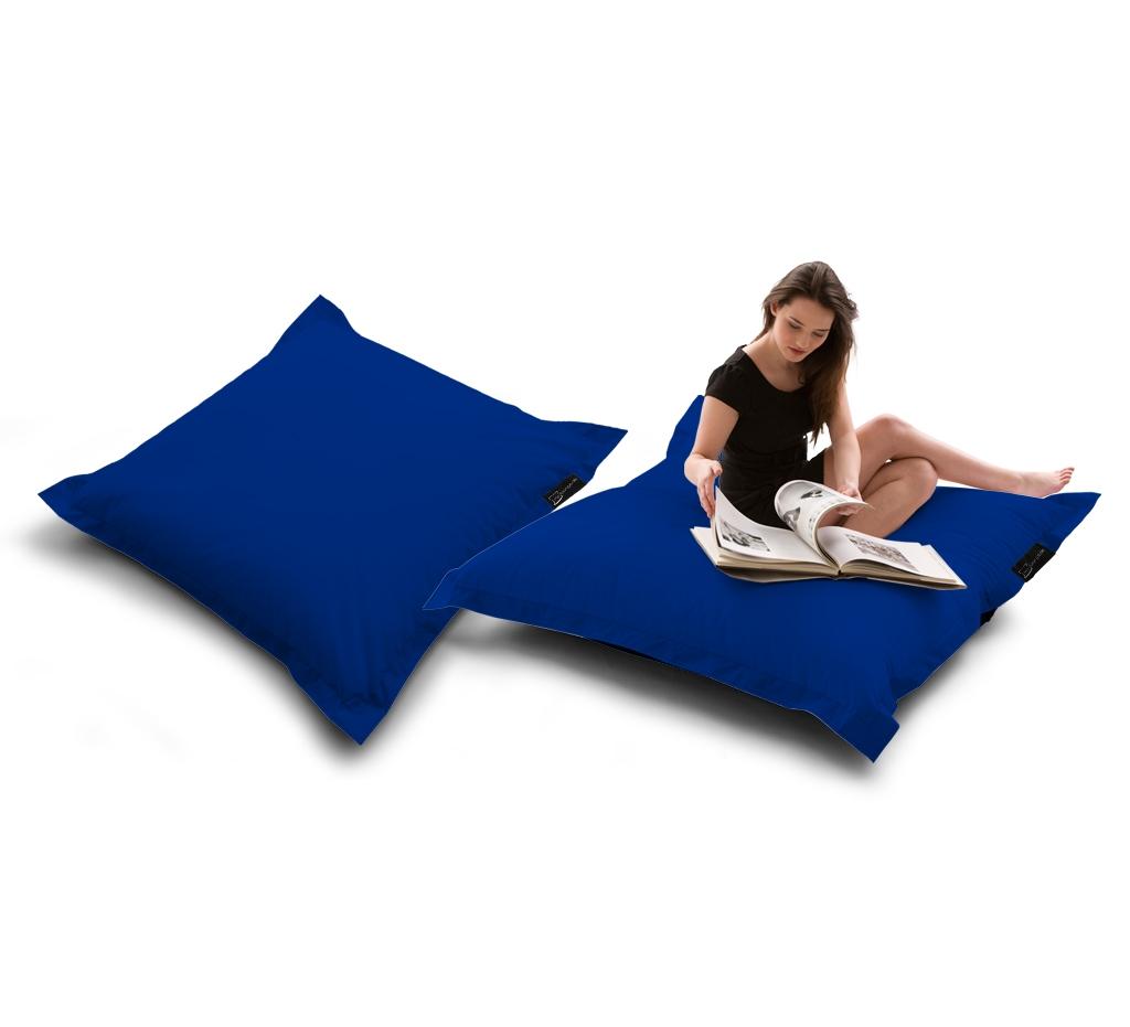 Sitzsack Quad Lounger UNI Blau my-lounge.de