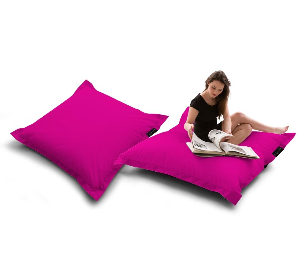 Sitzsack Quad Lounger UNI Pink my-lounge.de