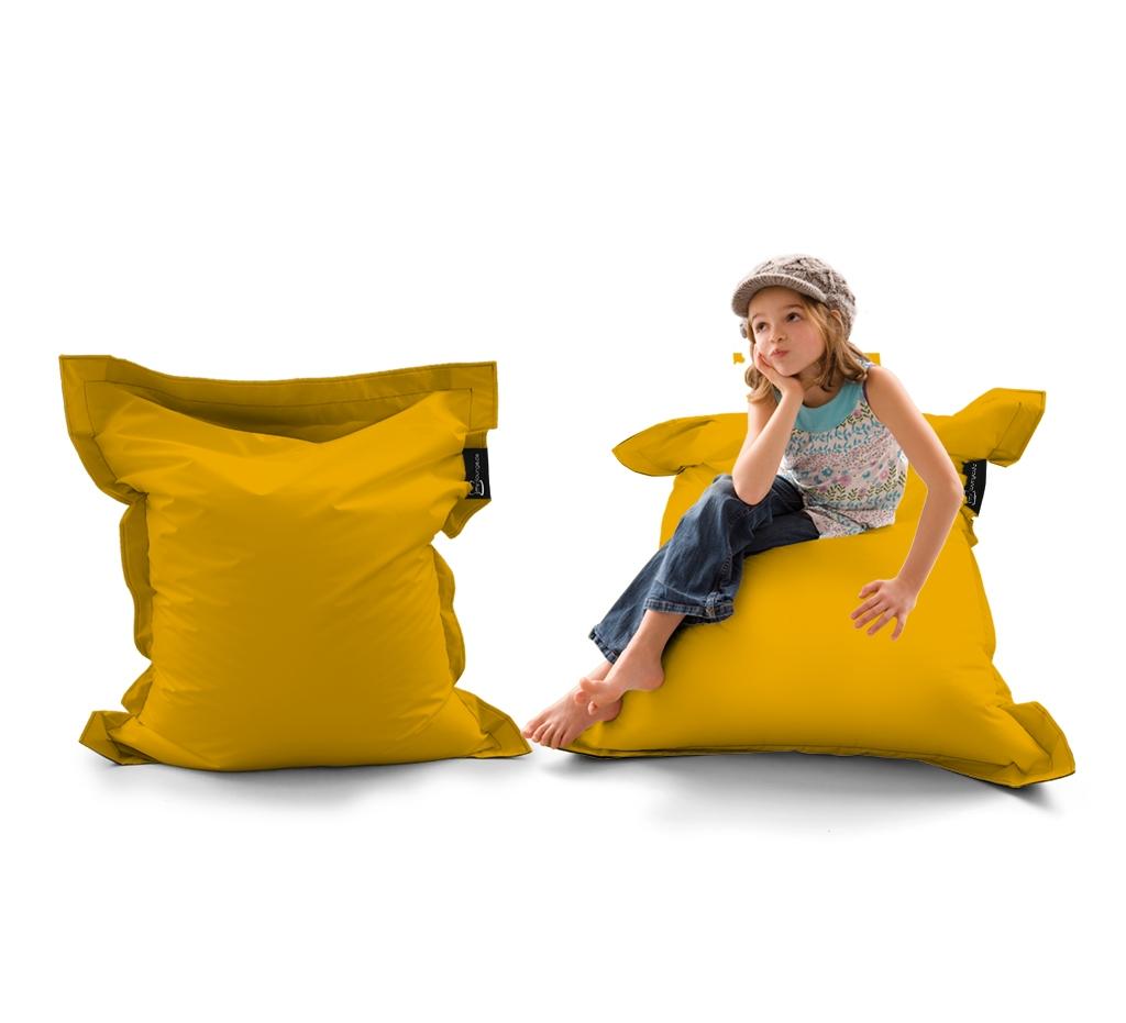 Sitzsack Mini Lounger UNI Gelb my-lounge.de