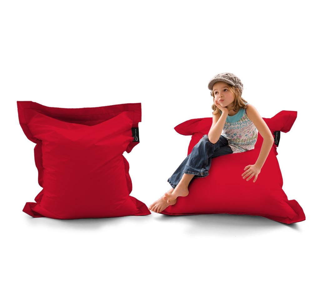 Sitzsack Mini Lounger UNI Rot my-lounge.de