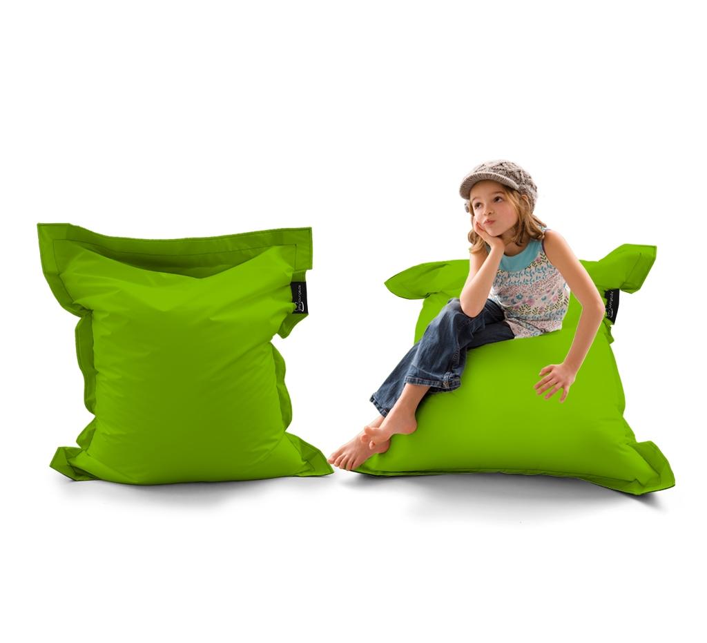 Sitzsack Mini Lounger UNI Grün my-lounge.de