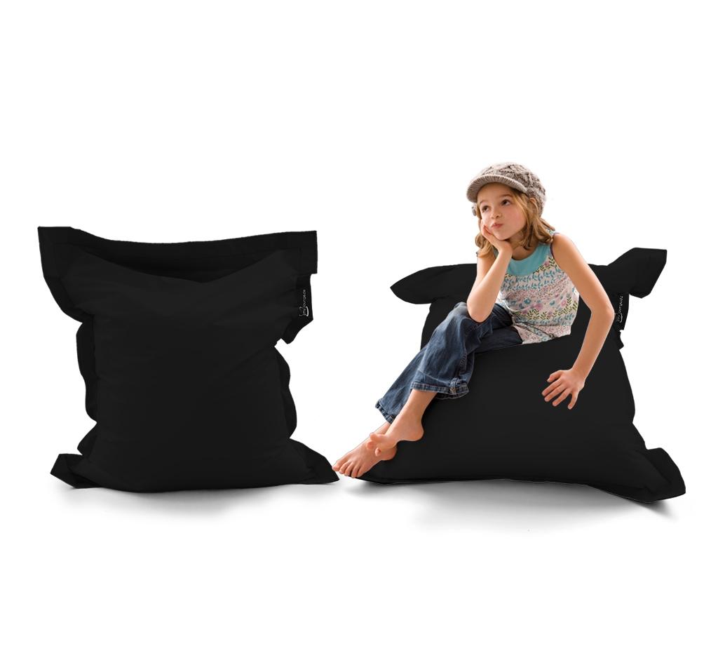 Sitzsack Mini Lounger UNI Schwarz my-lounge.de
